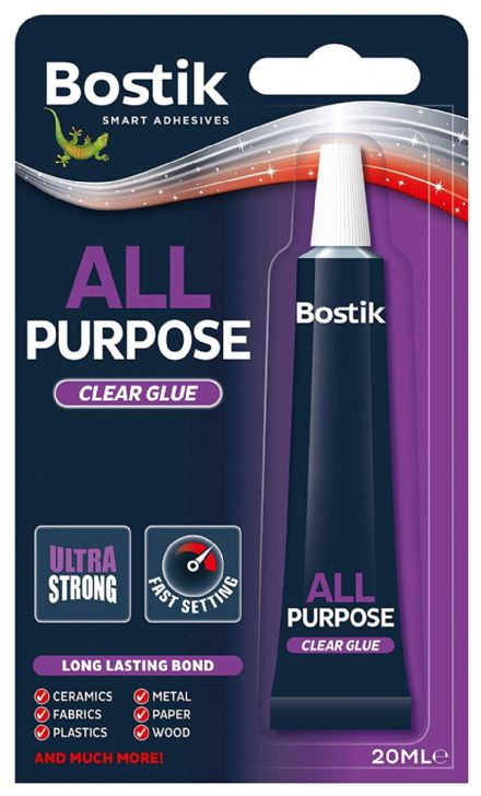 Bostick All Purpose Clear Glue